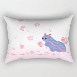Cherry blossom slug Rectangular Pillow