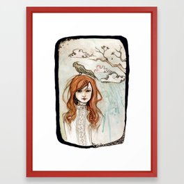 a fine frenzy Framed Art Print