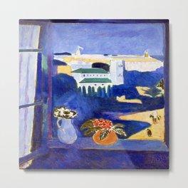 Henri Matisse Window in Tangier Metal Print