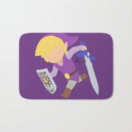 Toon Link(Smash)Purple Bath Mat