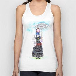 MARIA FROM DOURO-PORTUGAL Unisex Tank Top