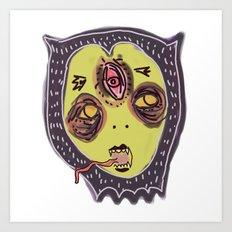 Gastric bypass DEMON face Art Print