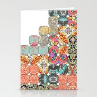 tetris Stationery Cards featuring TETRIS by Bianca Green