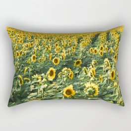 Sunflowers Forever Rectangular Pillow