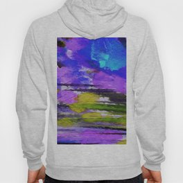 Art Abstraction 1F by Kathy Morton Stanion Hoody