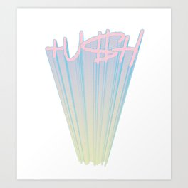 PUSH - UP  (PBYL) Art Print