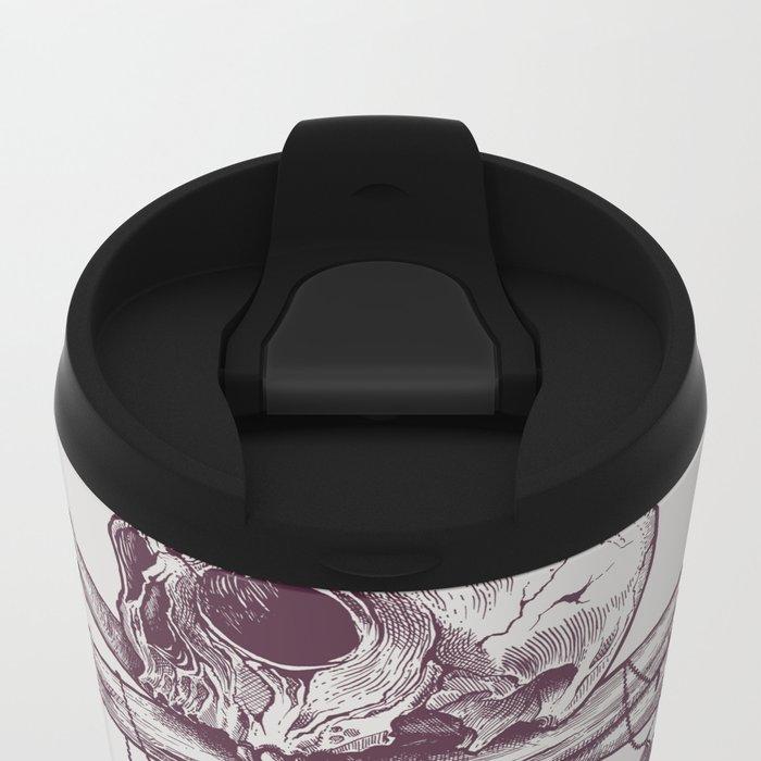 Skull Totem Metal Travel Mug