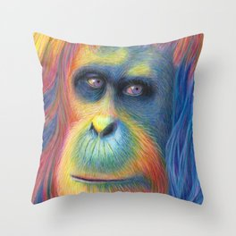 Gentle Giant Throw Pillow