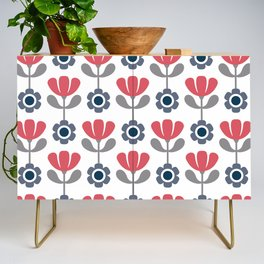 Simple flowers Credenza