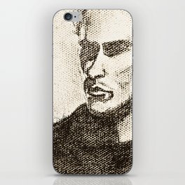 Mr Shady by D. Porter iPhone Skin