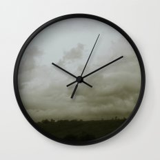 Dawn in the countryside Wall Clock