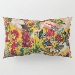 FLORAL AND BIRDS XVIII Pillow Sham