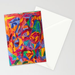 A Face of Contemplation Stationery Cards