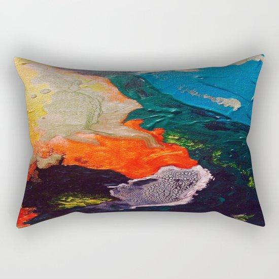 El Nino Abstract Rectangular Pillow
