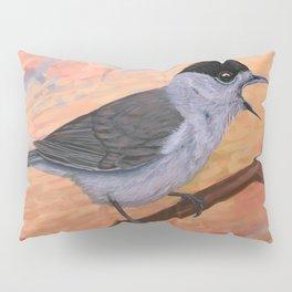 Blackcap in spring Pillow Sham