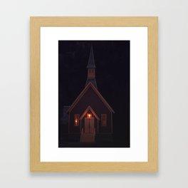 The Valley Church Framed Art Print