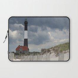 Fire Island Light From The Beach Laptop Sleeve