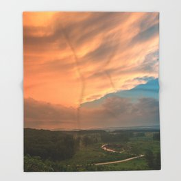Devil's Den Divine Sunset Throw Blanket