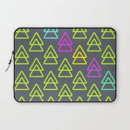 neon triangles Laptop Sleeve