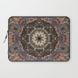 Mandala with ammonites Laptop Sleeve