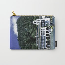Up there on the top. Carry-All Pouch