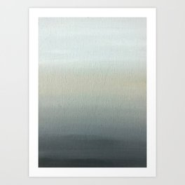 Grey 1 Art Print