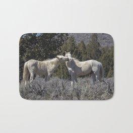 Wild Horses with Playful Spirits No 2 Bath Mat