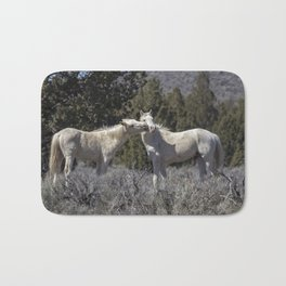 Wild Horses with Playful Spirits No 2 Bath Mat