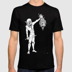 Perseus and Medusa Black Mens Fitted Tee MEDIUM