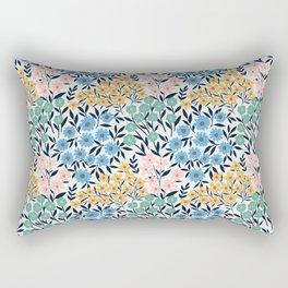 White garden Rectangular Pillow