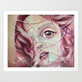 Life lines Art Print