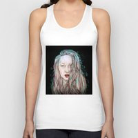 goddess Tank Tops featuring Goddess  by Jenn