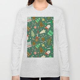 Baking Up Warm Wishes Long Sleeve T-shirt