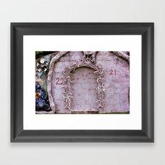 22 21 Framed Art Print