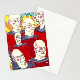 Jean-Luc  Stationery Cards