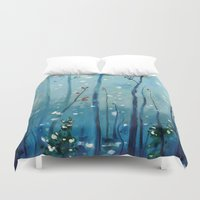 new year Duvet Covers featuring new year by Brandon Koepke