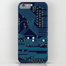 Dark Circuit Board iPhone 6s Plus Slim Case