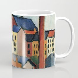 August Macke - St. Mary's with Houses and Chimney Coffee Mug