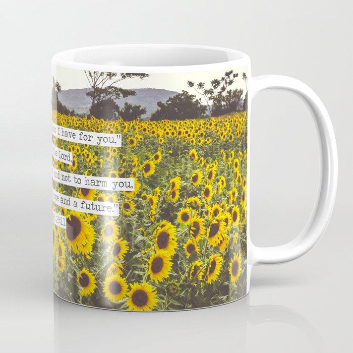Jeremiah Sunflowers Coffee Mug