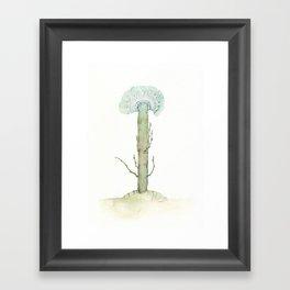 Blue Flower, 2018 Framed Art Print