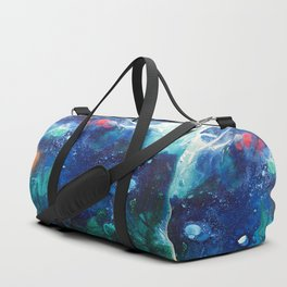 Bright Ocean Life, Tiny World Collection Duffle Bag