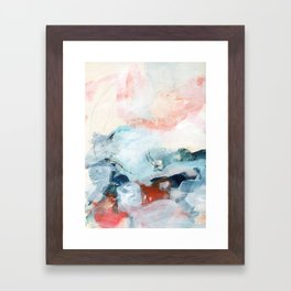 abstract painting III Framed Art Print