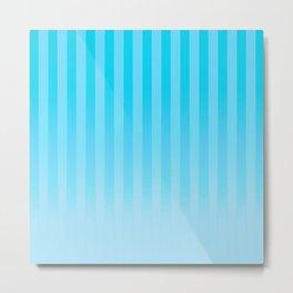 Gradient Stripes Pattern it Metal Print