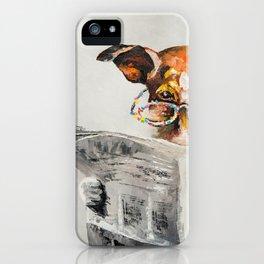 DOG'S NEWS iPhone Case