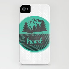 Follow Your Heart Slim Case iPhone (4, 4s)
