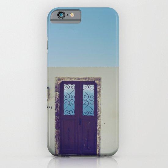 Santorini Door V iPhone & iPod Case