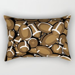 Football Season Rectangular Pillow