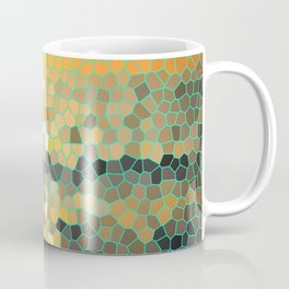 Costa Rica Stained Glass Sunset Coffee Mug