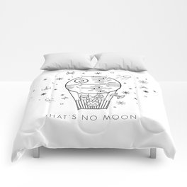 That's No Moon Death Star Hot Air Balloon Storm Tr Comforters