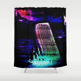 Etheric Degeneration Shower Curtain